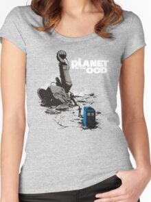 PLANET OF THE OOD Women's Fitted Scoop T-Shirt