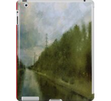 Summer sky river iPad Case/Skin