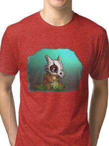 Cute Cubone Tri-blend T-Shirt