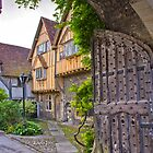 Priory Gate, Winchester by vivsworld