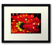 Chinese Dragon  Lantern Framed Print