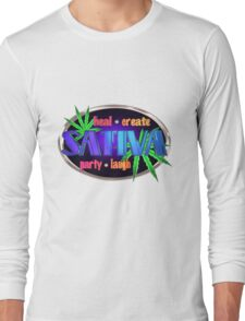 Sativa marijuana  Long Sleeve T-Shirt