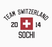 Team Switzerland - Sochi 2014 by monkeybrain