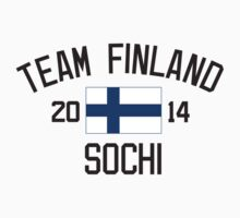 Team Finland - Sochi 2014 by monkeybrain
