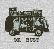 Vermont Or Bust! by One World by High Street Design
