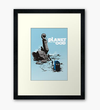 PLANET OF THE OOD Framed Print