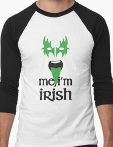 KISS me, I'm Irish Men's Baseball ¾ T-Shirt