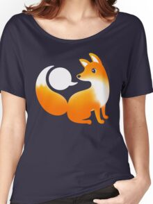 WHAT DOES A FOX SAY? Women's Relaxed Fit T-Shirt