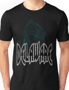 FISH DELAWARE VINTAGE LOGO Unisex T-Shirt