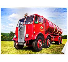 Red Tanker Poster