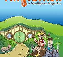 The Anglerfish issue 1 cover - Lord of the Greens by Chomps The Anglerfish