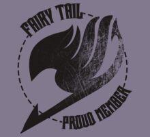 Fairy Tail - Proud Member Kids Tee