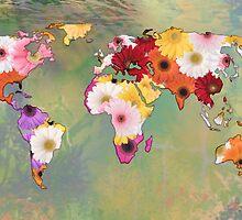 Life In Flowers by ArtByRuta