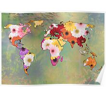 Life In Flowers Poster