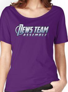 News Team Assemble Women's Relaxed Fit T-Shirt
