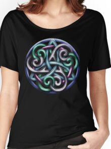 Celtic Triskele Knotwork  Women's Relaxed Fit T-Shirt