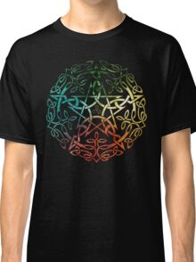 Elemental Celtic Knotwork Pentacle Classic T-Shirt