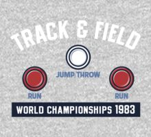 Track & Field World Championships One Piece - Long Sleeve