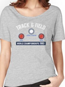 Track & Field World Championships Women's Relaxed Fit T-Shirt