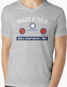 Track & Field World Championships Mens V-Neck T-Shirt