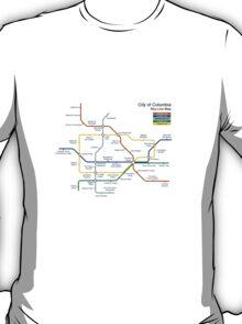 Bioshock Infinite - Columbia Sky-Line Map T-Shirt