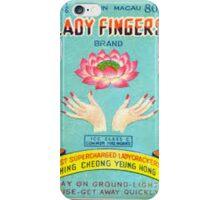 Vintage Firecracker Pack iPhone Case Series: Meet The Ladyfinger  iPhone Case/Skin