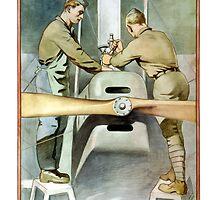Enlist In The Air Service -- WW1 by warishellstore