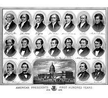 American Presidents First Hundred Years by warishellstore