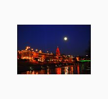 Full Moon over the Country Club Plaza in Kansas City. Unisex T-Shirt