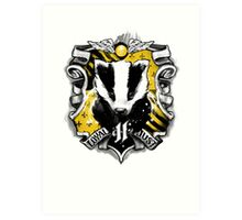 H Crest Art Print