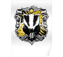 H Crest Poster