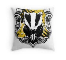 H Crest Throw Pillow
