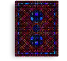 Pixel Backside Canvas Print