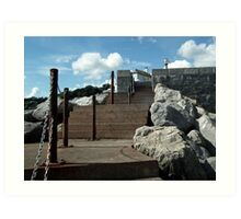 Sea Steps Art Print