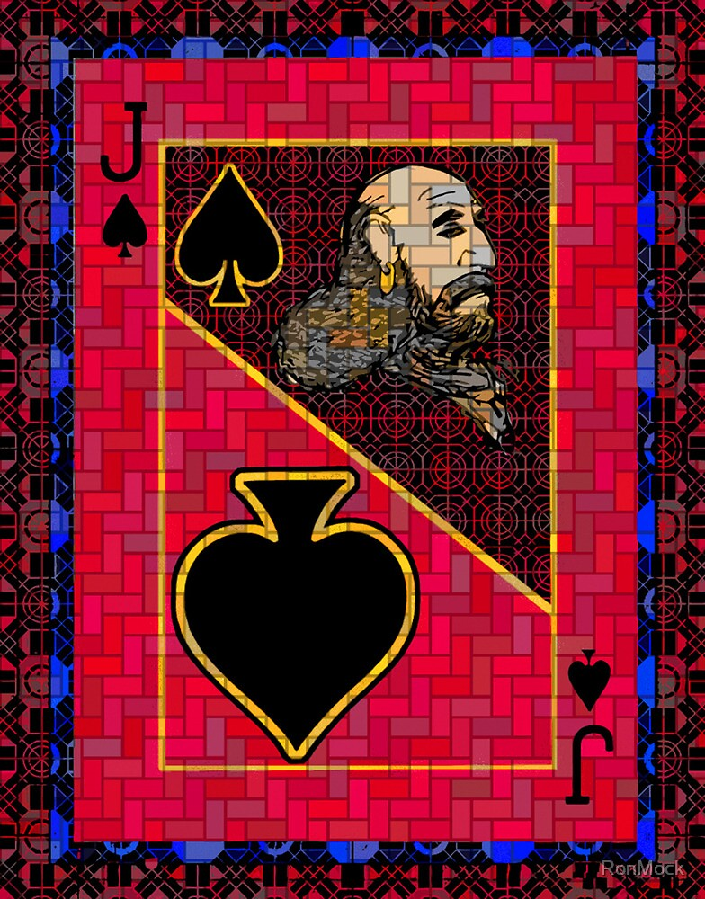 Pixel Jack of Spades by RonMock