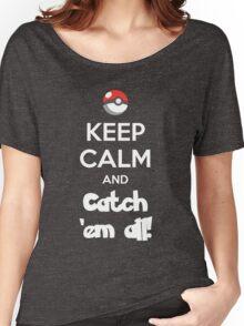 Catch 'em All! Women's Relaxed Fit T-Shirt