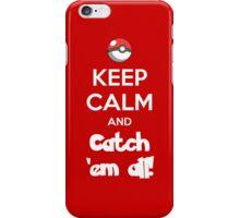Catch 'em All! iPhone Case/Skin