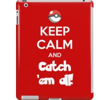 Catch 'em All! iPad Case/Skin
