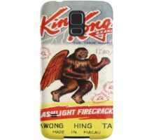 Vintage Firecracker Pack iPhone Case Series: King Kong, Bitches Samsung Galaxy Case/Skin