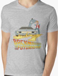 Back To The Futurama Mens V-Neck T-Shirt