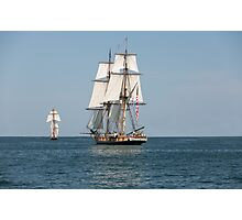Two Tall Ships Photographic Print