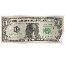 Walter White - Dollar Bill Poster