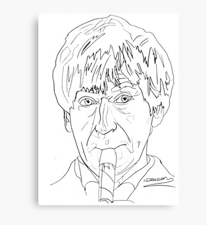 Patrick Troughton - 2nd Doctor Canvas Print
