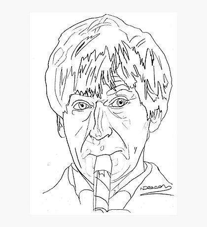 Patrick Troughton - 2nd Doctor Photographic Print