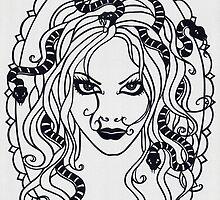 Medusa - invert by MrsTreefrog