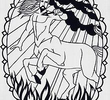 Centaur - invert by MrsTreefrog