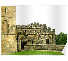 Durham Cathedral - Side Poster
