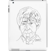 Patrick Troughton - 2nd Doctor iPad Case/Skin