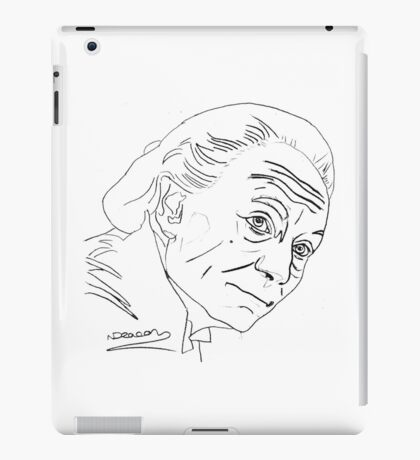 William Hartnell - 1st Doctor iPad Case/Skin