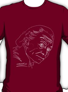 William Hartnell - 1st Doctor (white) T-Shirt